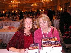 Jean Brashear and Roxanne at a booksigning in Reno