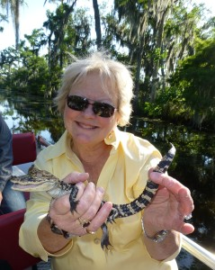 me holding alligator baby  P1080709 - Version 2